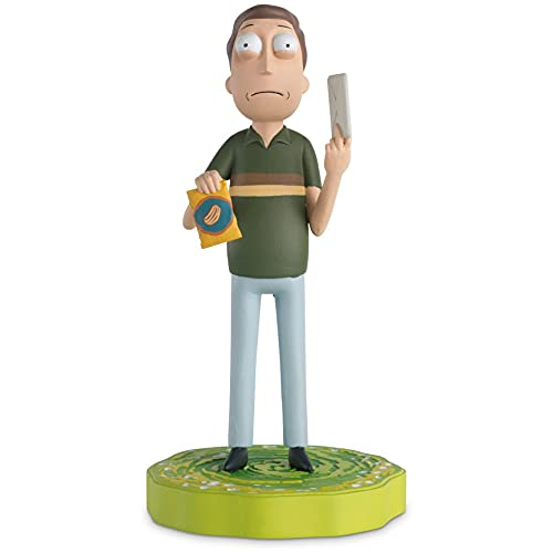 Rick and Morty Collection | Jerry Smith Figurine with Magazine Issue 8 by Eaglemoss Hero Collector
