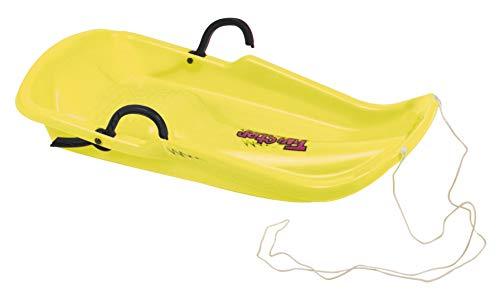 SCHREUDERS SPORT Unisex Twister Schlitten, doppelhelixstruktur, gelb, One Size