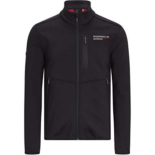 Porsche Motorsport Men's Black Softshell Jacket (S)
