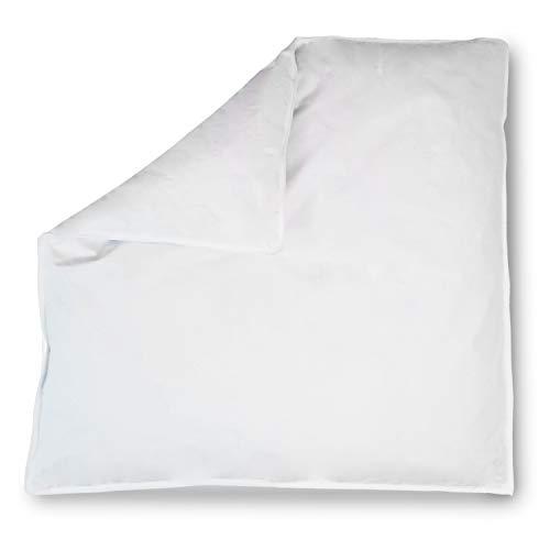 Koru Kids® Baby-Oberbett Daunendecke Daunenbettdecke, 80 x 80 cm, allergikergeeignet, Füllmenge 150g