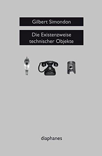 Die Existenzweise technischer Objekte (sequenzia)