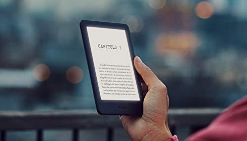 Kindle, ahora con luz frontal integrada, blanco + Kindle Unlimited (con renovación...