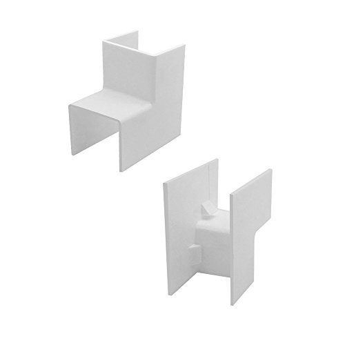 ARLI Kabelkanal 16x16mm 10x Eckstück innen PVC Installationskanal Zubehör Ecken Montage