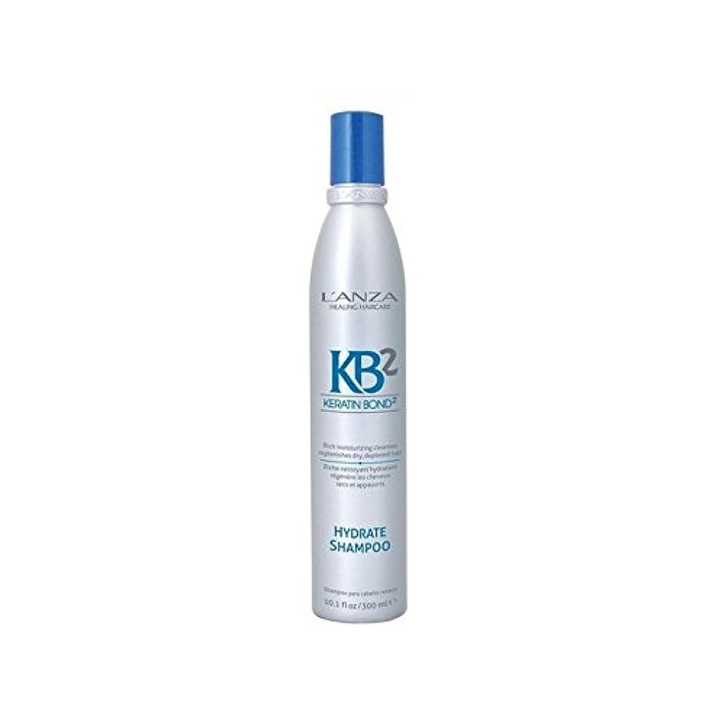 言い直す政策突然アンザ2和物シャンプー(300ミリリットル) x2 - L'Anza Kb2 Hydrate Shampoo (300ml) (Pack of 2) [並行輸入品]
