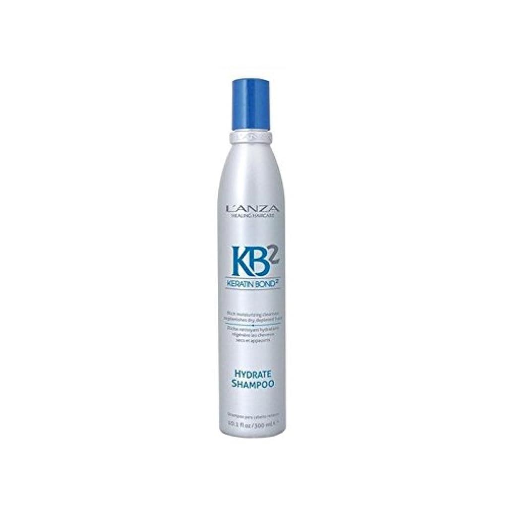 空白嘆願ホイッスルアンザ2和物シャンプー(300ミリリットル) x4 - L'Anza Kb2 Hydrate Shampoo (300ml) (Pack of 4) [並行輸入品]