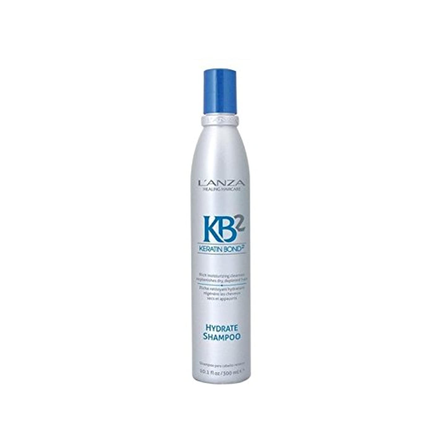 一族トラップ奪うL'Anza Kb2 Hydrate Shampoo (300ml) - アンザ2和物シャンプー(300ミリリットル) [並行輸入品]