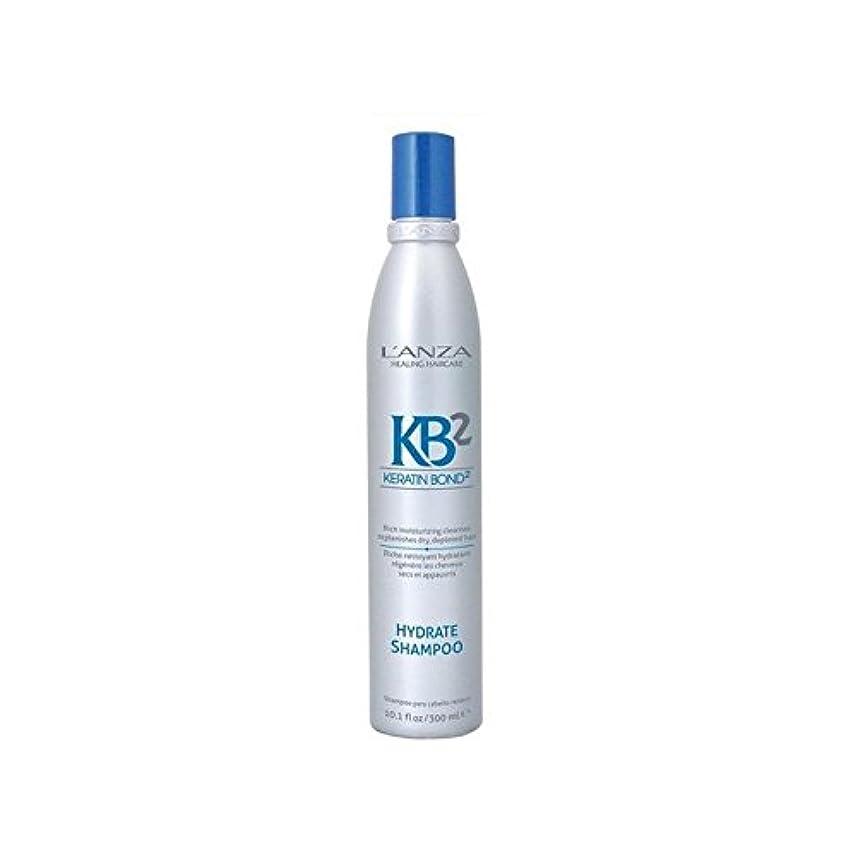 喜んで特定の封建アンザ2和物シャンプー(300ミリリットル) x4 - L'Anza Kb2 Hydrate Shampoo (300ml) (Pack of 4) [並行輸入品]