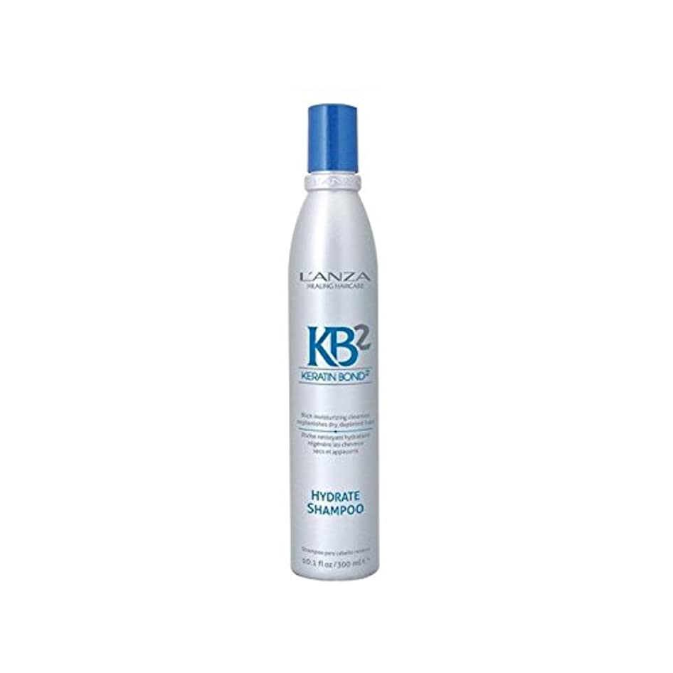 フォーラム憲法推測するアンザ2和物シャンプー(300ミリリットル) x2 - L'Anza Kb2 Hydrate Shampoo (300ml) (Pack of 2) [並行輸入品]
