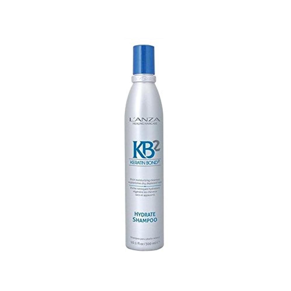 名誉グリーンバックシーズンアンザ2和物シャンプー(300ミリリットル) x4 - L'Anza Kb2 Hydrate Shampoo (300ml) (Pack of 4) [並行輸入品]