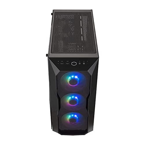 Cooler Master MasterBox TD500 ARGB Midi-Tower Nero MasterBox TD500 ARGB, Midi-Tower, PC, Acrilico, Plastica, Acciaio, Nero, ATX,EATX,Micro ATX,Mini-ITX, Multi