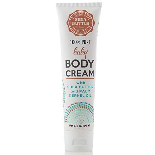 Organic SCA 100% Pure and Natural Baby Body Cream Nourishing and Healing for Babies 34 Oz 100 ml