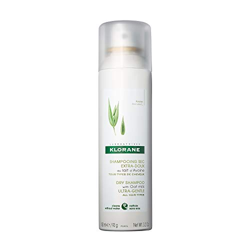 Klorane Dry Shampoo with Oat Milk, Ultra-Gentle,...