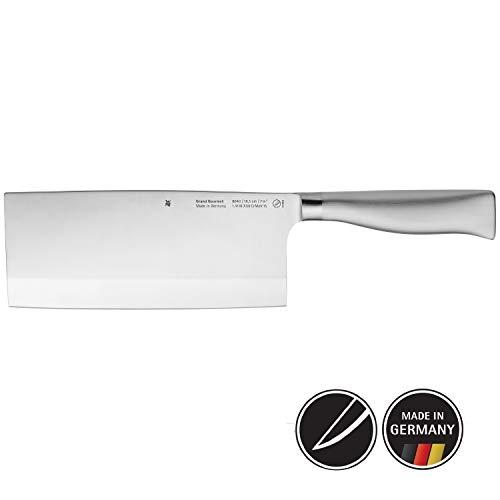 WMF Grand Gourmet Chinesisches Kochmesser 31,5 cm, Spezialklingenstahl, Messer geschmiedet, Performance Cut, Klinge 18,5 cm