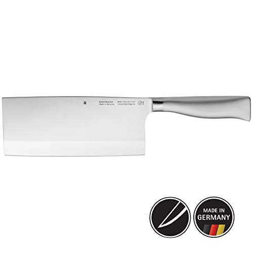 WMF Grand Gourmet Chinesisches Kochmesser 31,5 cm, Spezialklingenstahl, Made in Germany, Messer geschmiedet, Performance Cut, Klinge 18,5 cm