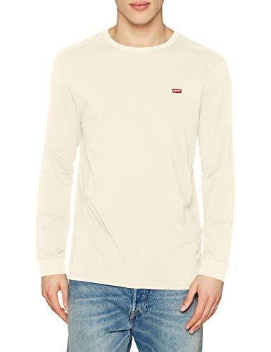 Levi's Herren LS Original HM Tee T-Shirt, Almond Milk, M