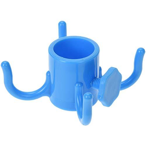 Krok för parasoll, 4 krokar, blå – Progarden, färg: blå