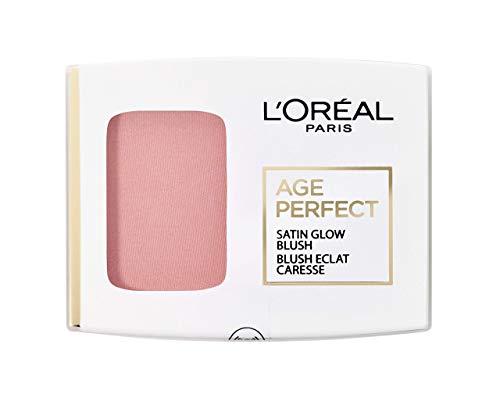 L'Oréal Paris Age Perfect Satin 101 Rosa/Rosewood seidiges Puder Rouge 5 g