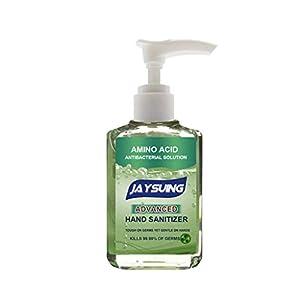 Landsuy 59ml Natural Gel Hand Soap, Foam Alcohol Free Foaming Hand Sanitizer, Pump No Rinse Foam Hand Soap Gel Liquid Hand Wash