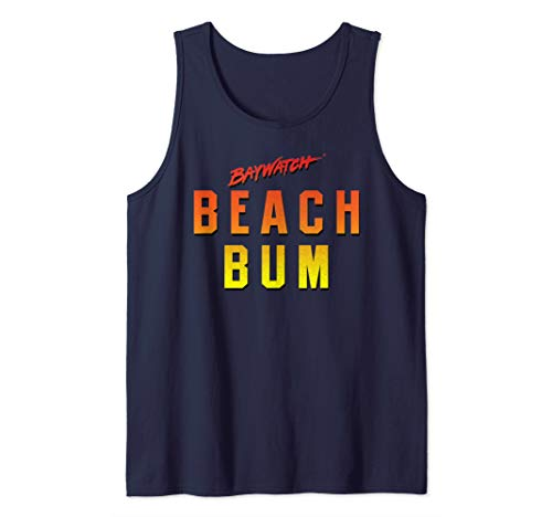 Baywatch Beach Bum Tank Top in 6 Colours for Men or Women