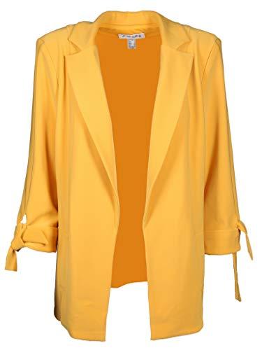 Joseph Ribkoff Damen Blazer mit 3/4 Arm Größe 38 EU Gelb (gelb)