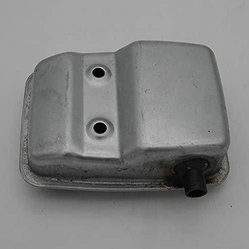 Silenciador de escape para desbrozadora, ajuste completo para HUSQVARNA para ZENOAH 226H CHTZ6010 HTZ7510 7510 6010, piezas de repuesto para cortasetos