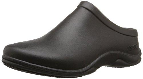 Bogs Women's Stewart Slip Resistant Work Shoe, Black, 9 M US