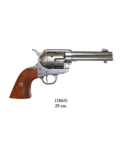 Denix Replica Colt Peacemaker 45 er Kaliber grau Pistole