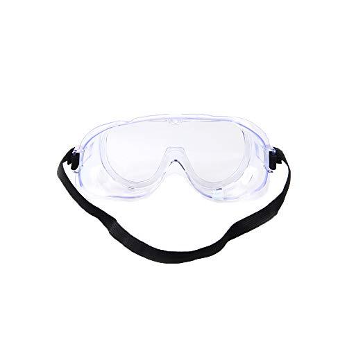 HEXUAN Gafas Gafas Anti - Salpicaduras químicas experimentales Anti - Impacto Anti - Acido alcalino Anti Viento y Arena Trabajo Protector para los Ojos