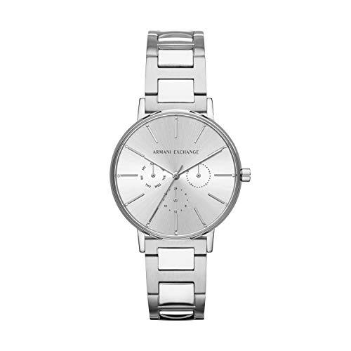 Armani Exchange Reloj Analogico para Mujer de Cuarzo con Correa en Acero Inoxidable AX5551