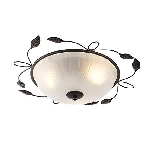 YWSZJ Iluminación Industrial Edison Colgante Colgante Luz Vintage Hierro Forjado Metal Araña Art Deco Jaula Lámpara Guardia Acabado en óxido