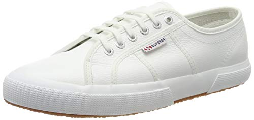 Superga 2750-efglu, Zapatillas de Gimnasia Unisex Adulto, Blanco (White 900), 44.5 EU