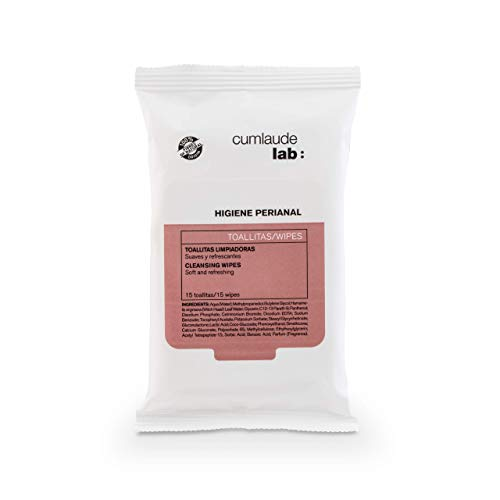 Cumlaude Lab - Toallitas Limpiadoras para la Higiene Rectal y Perianal - 15 toallitas