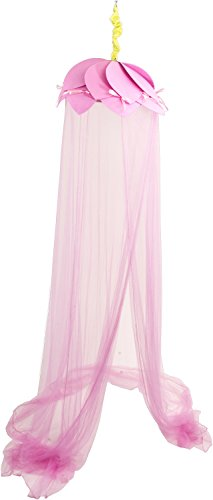 Bieco 04030703 - Himmel mit Blütendach rosa, ca. 650 x 230 x 40 cm