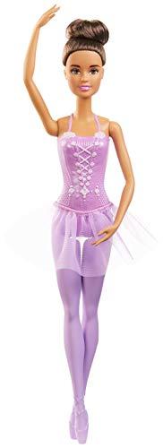 Barbie- Ballerina Bambola Castana con tutù Giocattolo per Bambini 3+ Anni, GJL60