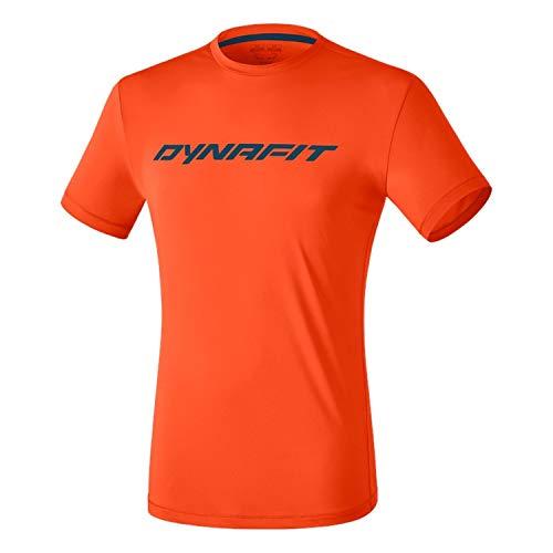 DYNAFIT Traverse 2M S/S Tee T-Shirt für Herren, Herren, Unterhemd, 08-0000070670, Leuchtgelb, XXL