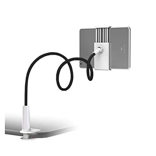 ONETOTOP Staffa Pigro per Telefono Cellulare A Collo Di Cig Soporte de la Mesa de la Mesa del Escritorio de la Mesa Flexible de la Mesa de la Cama de la Cama Flexible Universal (Color : Black)