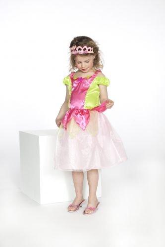 Rose & Romeo - 10030 - Costumi per Bambini - Kimberly - Vestito - Fucsia / Verde