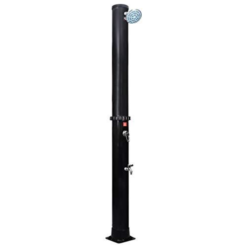 vidaXL Garten-Solardusche mit Duschkopf und Wasserhahn 40 L