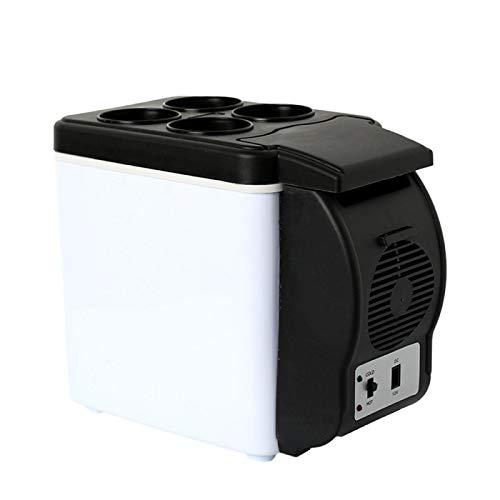 auspilybiber Caja portátil del refrigerador del congelador de los coches 6l del refrigerador del refrigerador del coche 12v