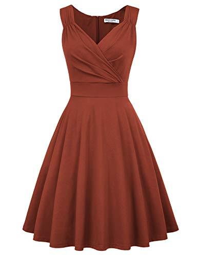 GRACE KARIN Mujer Vestido Corto Elegante para Fiesta Cóctel M CL010698-15