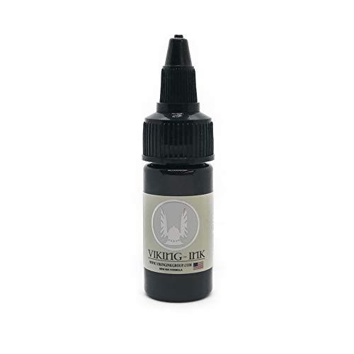 VIKING INK - Encre de Tatouage - LIGHT SHADOW 0.5oz (15ml) - Les meilleures couleurs et noirs - Vegan