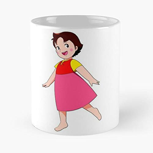 Cartoon Serie Show Anime Tv Heidi Alps Switzerland Comic Best 11 Ounce Ceramic Coffee Mug Gift