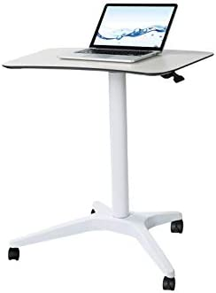 Pneumatic Adjustable Height Laptop Desk with Ergonomic Design