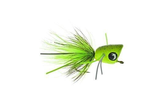 Umpqua Bass Popper (Colonel Mustard, 10)