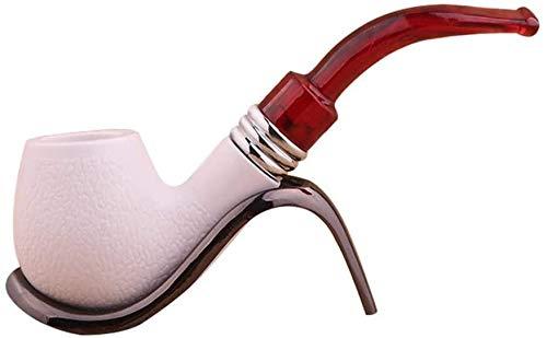 ZAQXSW-yandou Mnner Rauchpfeifen Harz Zigarettenhalter Pfeifenfilter Portable Disassemble Shisha-Rauchen Set