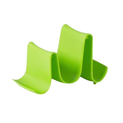 PETSOLA Accesorios de Cocina Soporte de Tapa de Olla de plástico - Verde