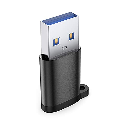 Nething Adaptadores USB Micro USB 2.0 3.0 Tipo C (Type-C to USB 3.1, Black)