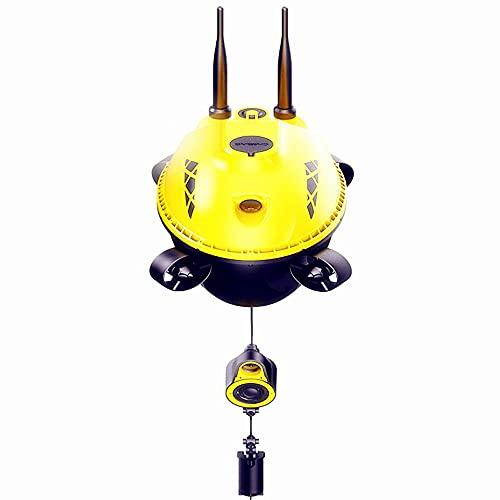 UJIKHSD Può Visitare La Scuola Di Pesce Drone Visione Notturna Pesca Subacquea Fish Finder HD Diving Robot Appassionato Di Pesca Può Montare Un Nido Barca E Sonar GPS Posizionamento Del Punto Di Pesca