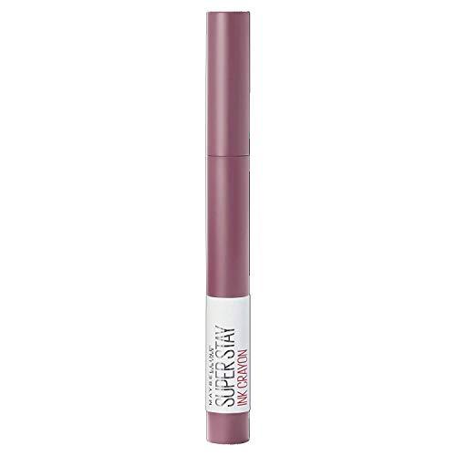 Maybelline New York Lippenstift, Super Stay Ink Crayon, Matt und langanhaltend, Nr. 25 Stay Exceptional, 1,5 g
