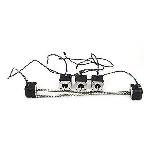 Neigei para TL-Smoother1set Accesorio de Impresora 3D 42 Motor Paso a Paso Motor Z de 320 m con Tornillo de Avance Trapezoidal para Mini-Rambo Ensy
